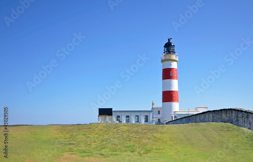 Photo  Point of Ayre Lighthouse on the Isle of Man