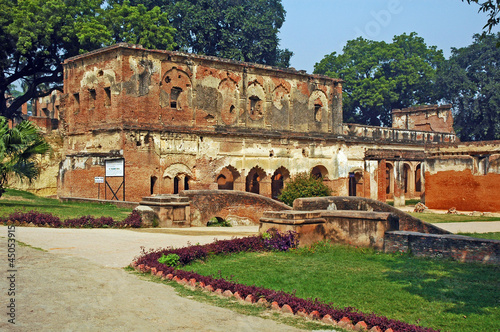 In de dag Lucknow, the Residency - India