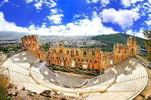 Ancient Theater In Acropolis G...