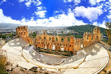 antičko kazalište u Akropolju u Grčkoj, Athnes