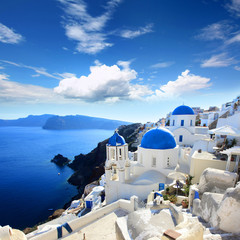 Obraz na Plexi Grèce - Santorin (Oia village)