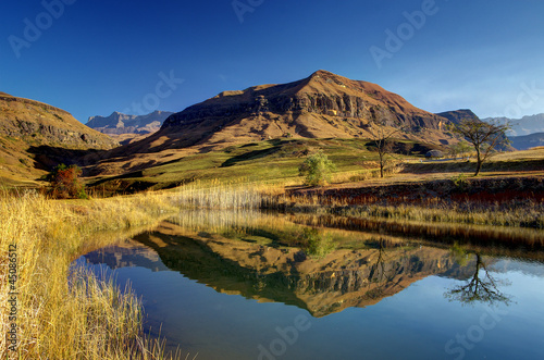 Canvas Prints South Africa Drakens Mountains, South Africa