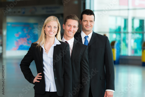 Photo  Engagierte Business-Gruppe
