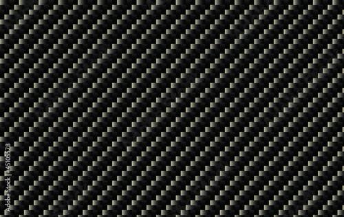 Leinwand Poster Carbon fiber pattern