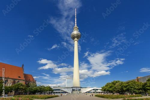 Fotografie, Obraz  Fernsehturm, Berlin