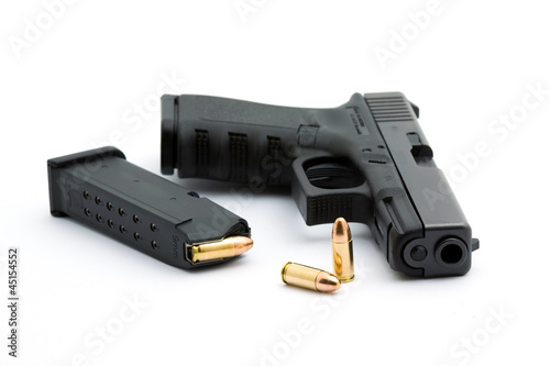 pistol Fototapeta