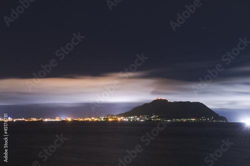 Foto op Aluminium Snoeien 函館からの景色