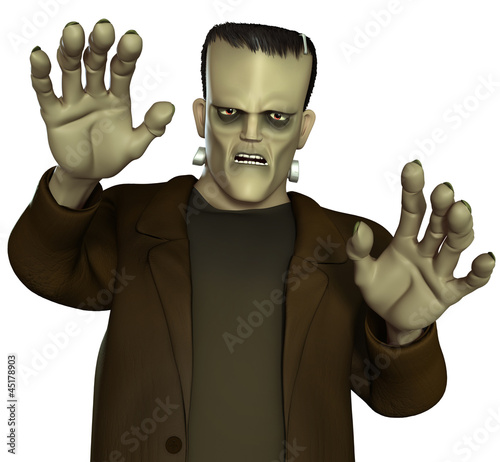 Fotobehang Sweet Monsters Frankenstein's Monster