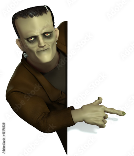 Keuken foto achterwand Sweet Monsters Frankenstein