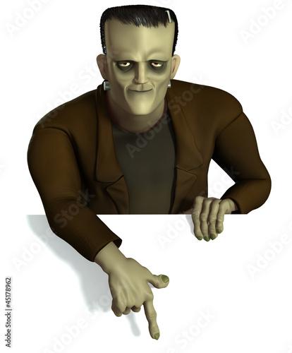 Recess Fitting Sweet Monsters halloween Frankenstein