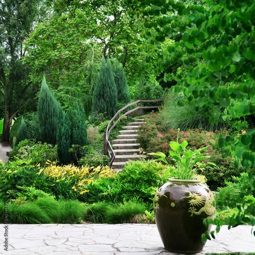 Foto-Kissen - cozy park