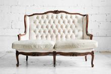 Sofa In Vintage Room