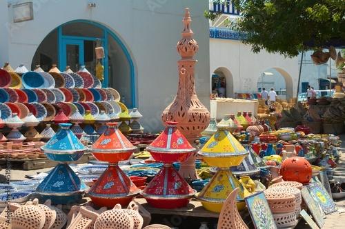 Poster Tunesië Céramiques djerba