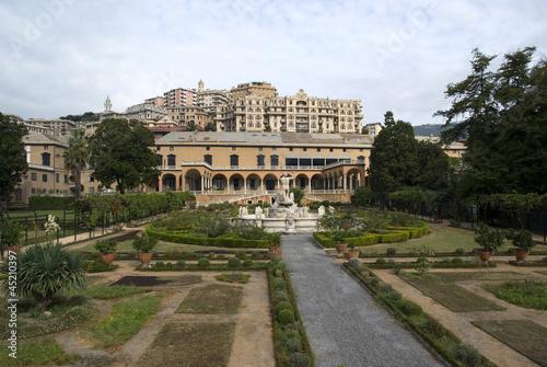 Fotografie, Obraz  Villa of the Prince, Genoa