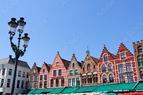Poster Brugge The Markt (Market Square) in Bruges, Belgium