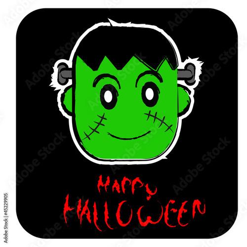 Poster Creatures halloween icon