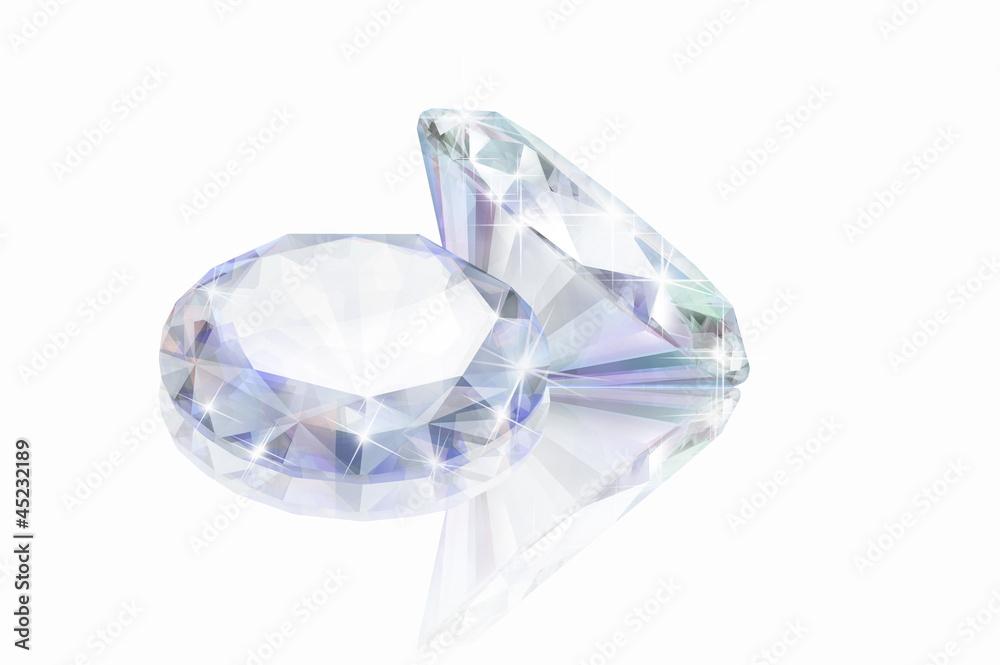 Plissee mit Motiv - Diamant 15