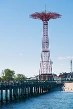 Parachute Tower. Coney Island, New York.