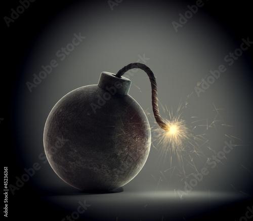 Photo  Vintage bomb