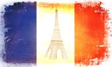 Bandiera Torre Eiffel