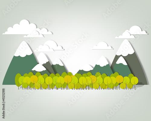 gorski-krajobraz-aplikacja-wektor