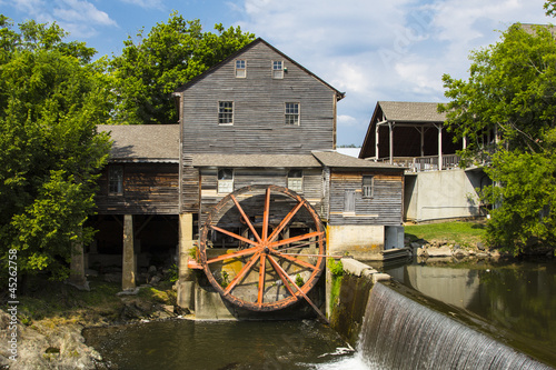 Photo sur Toile Moulins Old Mill