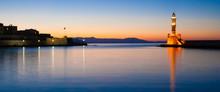 Chania Sunset Lighthouse