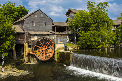 In de dag Molens Old Mill