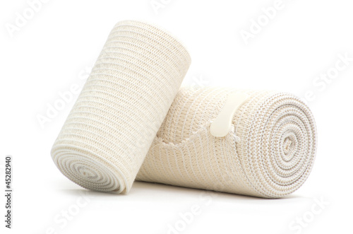 bandage roll Canvas Print