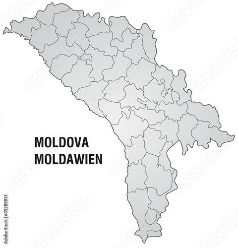 Stumme Karte.Stumme Karte Von Moldawien Buy This Stock Illustration And
