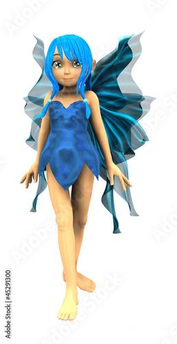 La pose en embrasure Fées, elfes Cartoon fairy