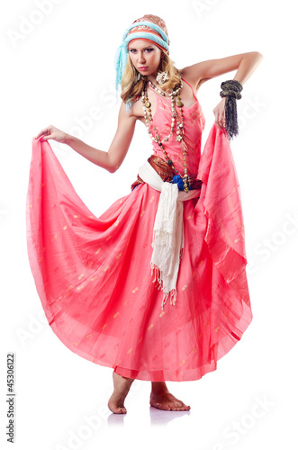 Garden Poster Fairytale World Dancer dancing spanish dances