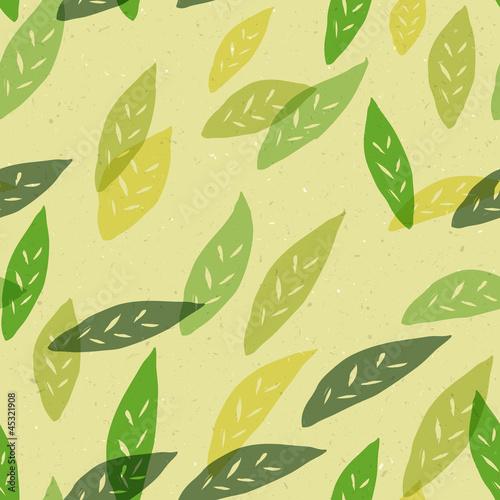 powtarzalny-wzor-zielonych-listkow