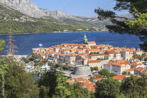 Valokuva Old Town of Korcula, Korcula Island, Croatia