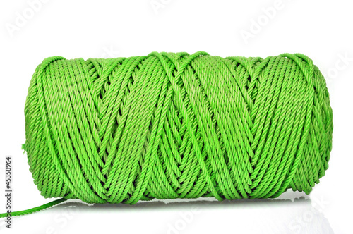 Photo  Hank of green rope