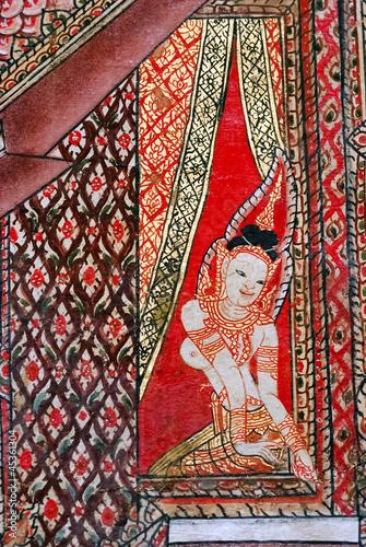 Thai mural painting - 45361304
