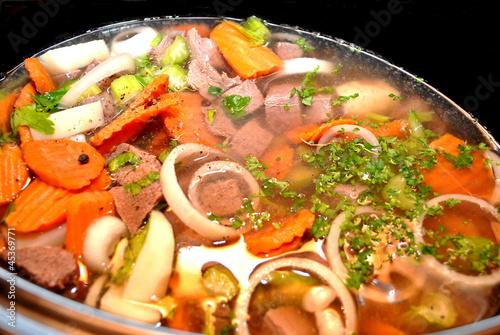 Fotografie, Obraz  Cooking Tasty Venison Stew