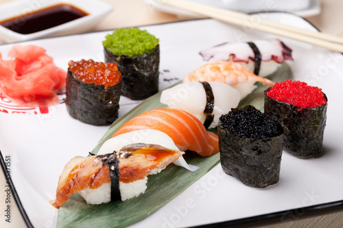 Classic japanese food