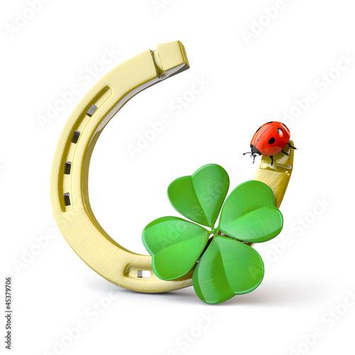 Fotografia Lucky symbols