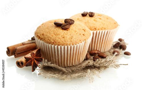 Fotografie, Obraz  tasty muffin cakes