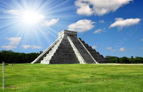 Foto op Canvas Mexico Chichen Itza in Mexico