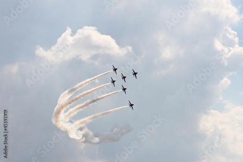 Photo  six aircraft