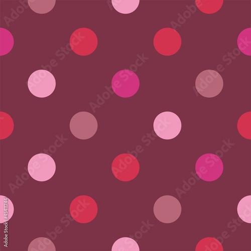 bezszwowe-wektor-wzor-rozowe-kropki-ciemne-tlo