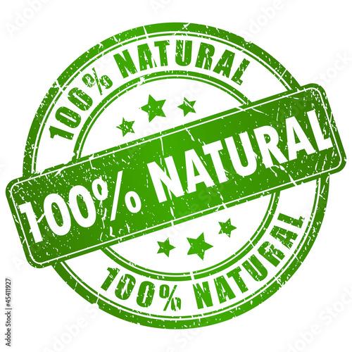 Fotografía  Vector natural stamp