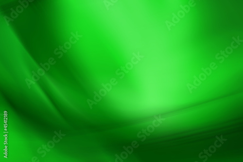 Green Folded Abstract Background