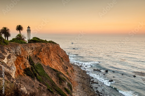 Foto op Aluminium Los Angeles Dawn at Point Vicente, Palos Verdes, Los Angeles