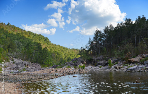 Printed kitchen splashbacks River River Flowing During Sunny Afternoon