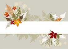 Autumn Leaf Banner