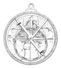 Ancient Astrolabe - 15th Century