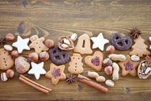 Christmas Cookies And Nuts For Christmas